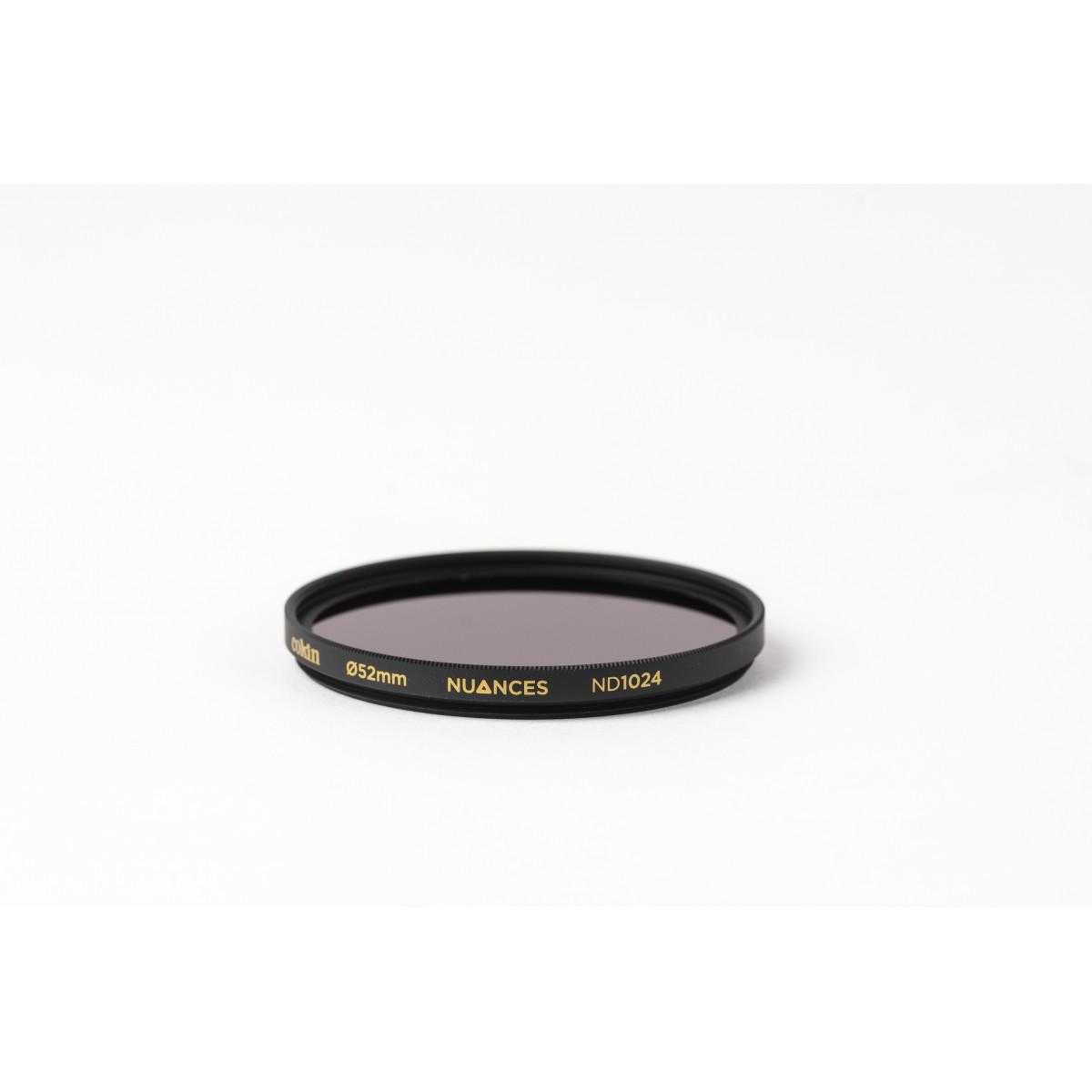 COKIN NUANCES - Filtre Densité Neutre vissant ND1024 - 52mm