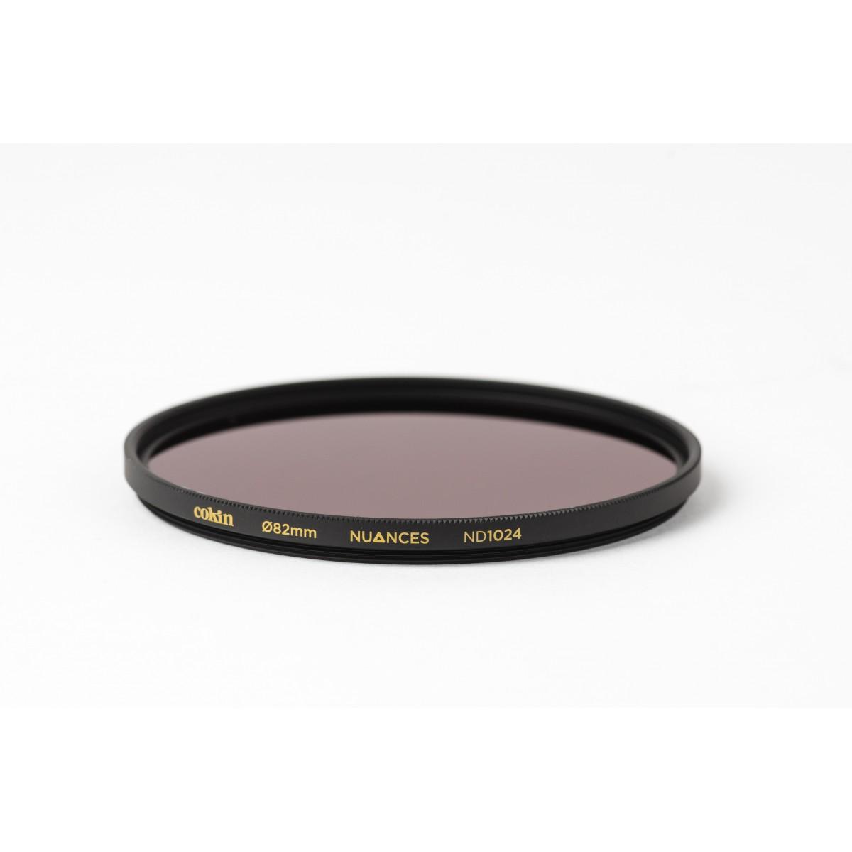 COKIN NUANCES - Filtre Densité Neutre vissant ND1024 - 82mm
