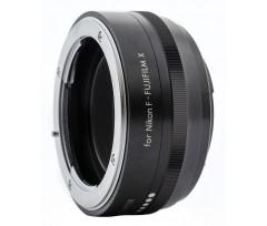 KENKO - Bague d'adaptation pour optiques en monture Nikon F vers Fujifilm X.
