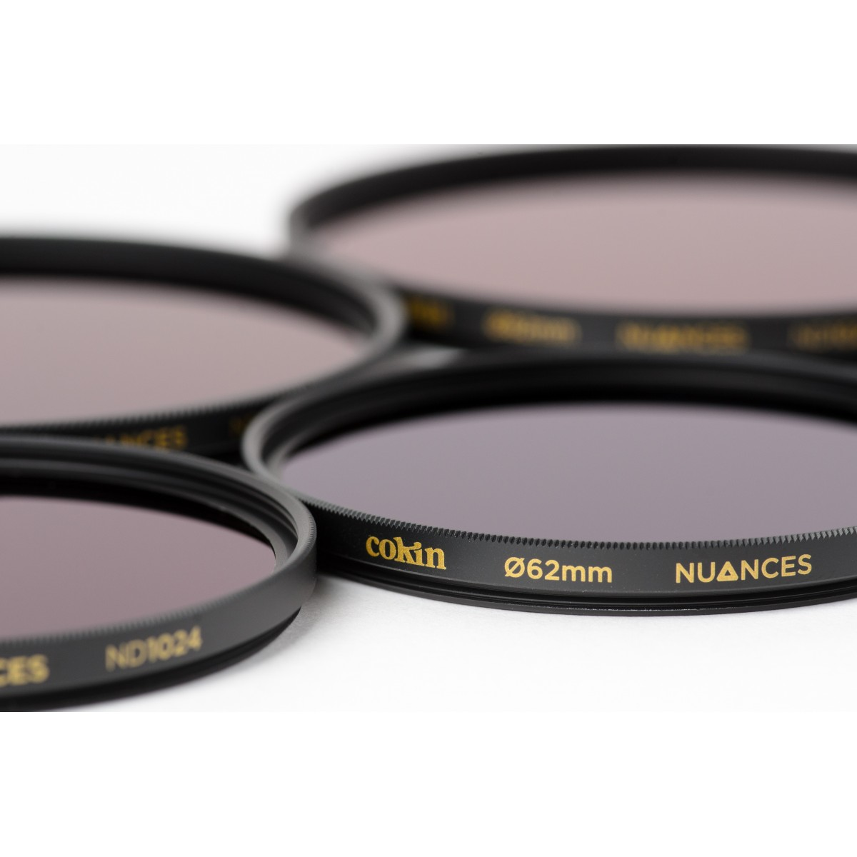 COKIN NUANCES - Filtre Densité Neutre vissant ND1024 - 62mm
