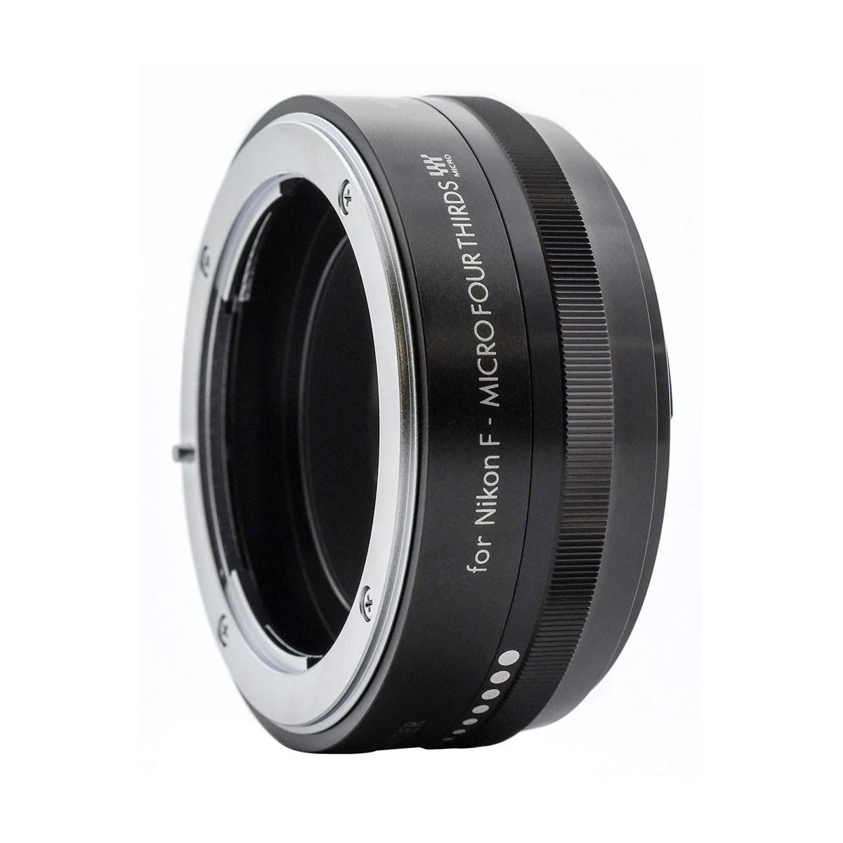 KENKO - Bague d'adaptation pour optiques en monture Nikon F vers Micro 4/3.