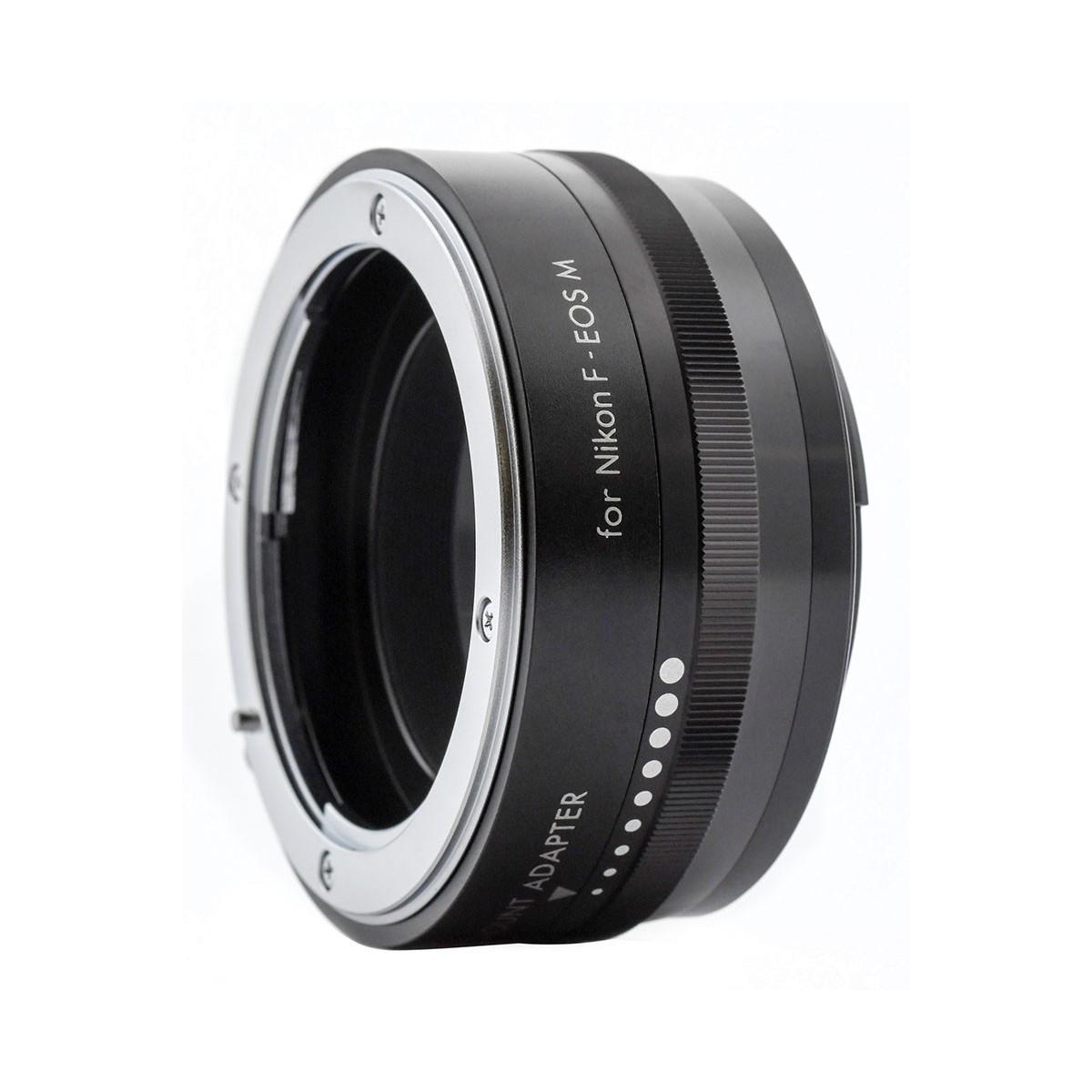 KENKO - Bague d'adaptation pour optiques en monture Nikon F vers Canon EOS-M.