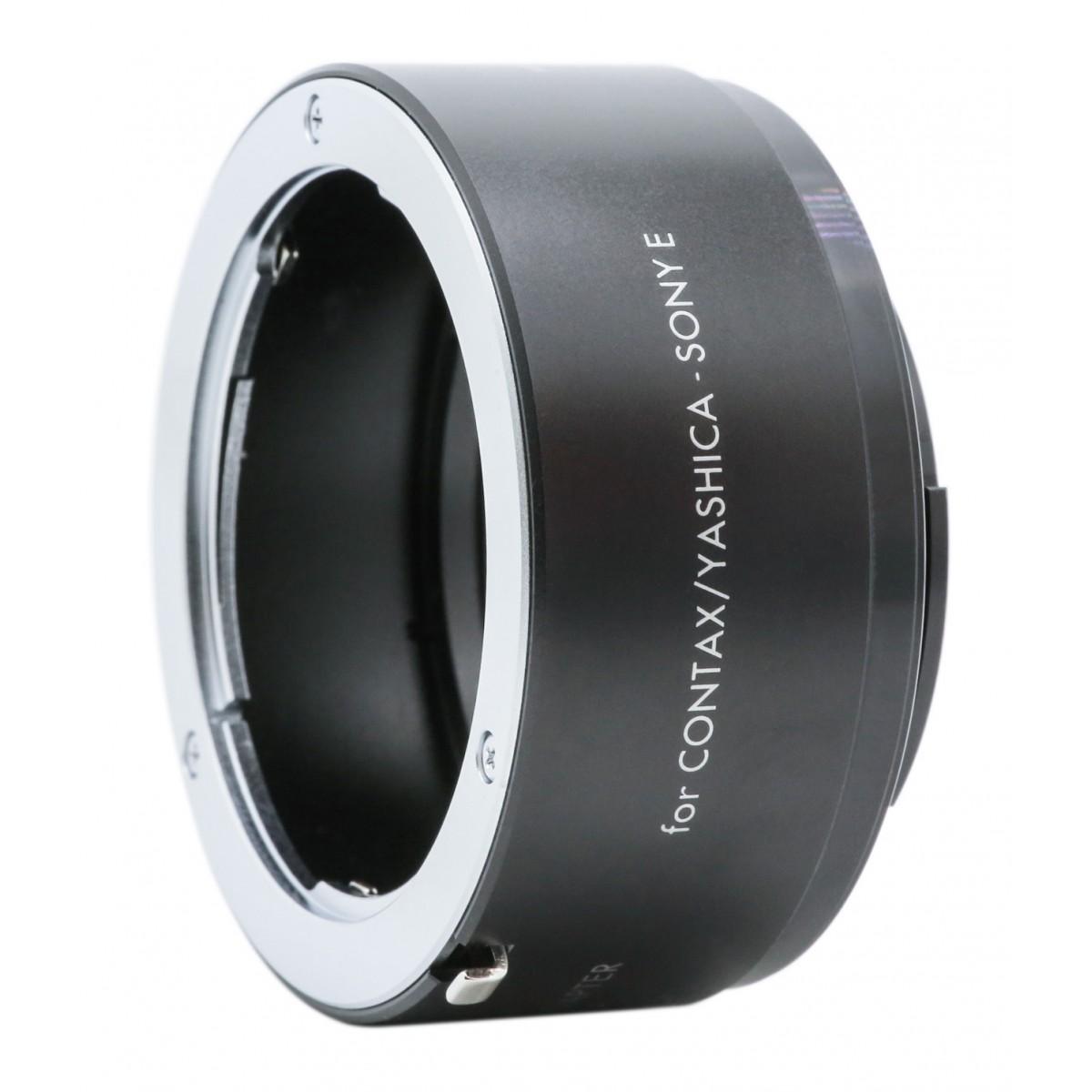 KENKO - Bague d'adaptation pour optiques en monture Contax vers Sony E-mount.