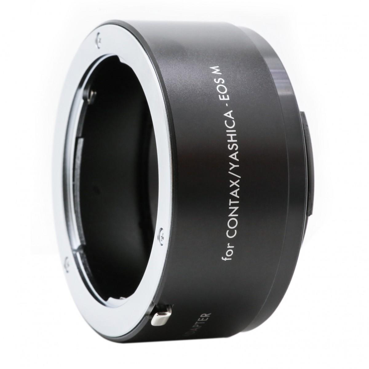 KENKO - Bague d'adaptation pour optiques en monture Contax vers Canon EOS-M.