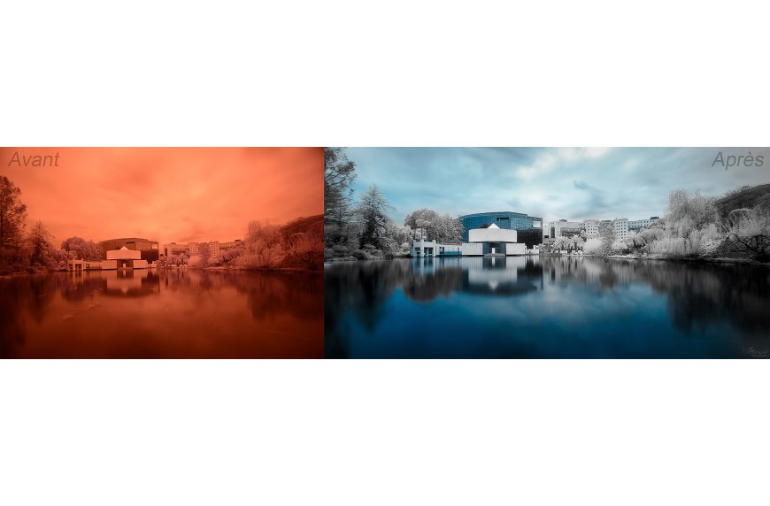 An interview of Millenium Photographie, french photographer specializing in infrared photography