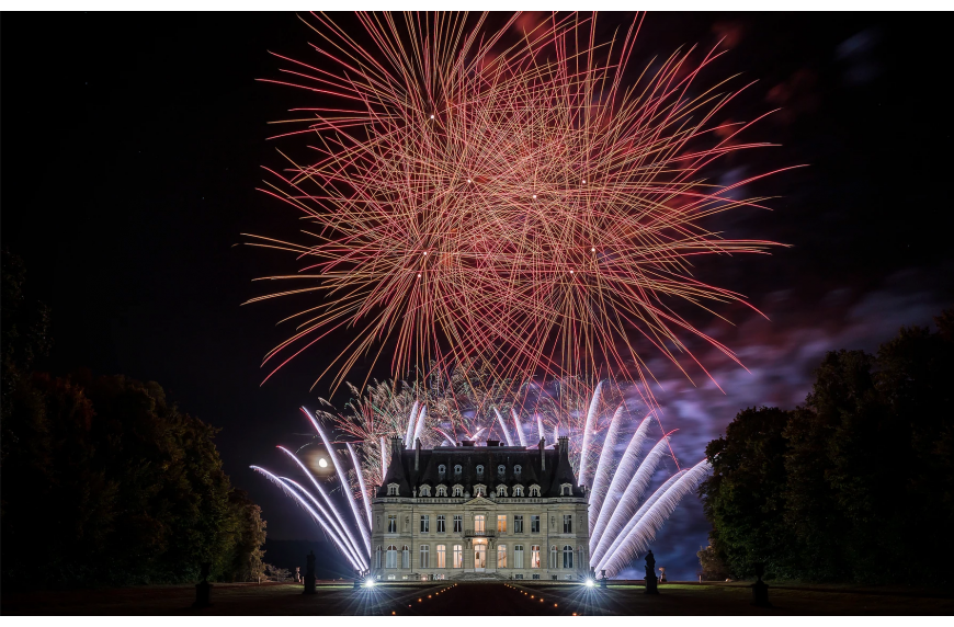 How to photograph beautiful fireworks with Hoya ND filters