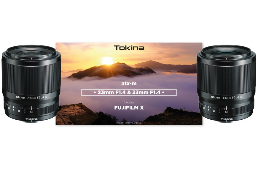 Kenko-Tokina introduces its two first lenses compatible with the Fuji X mount
